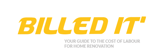 Billed it - your guide to the cost of home renovation